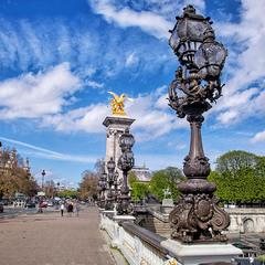 Париж, мост Александра ІІІ