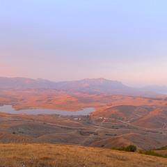 Sunset in Sun Valley