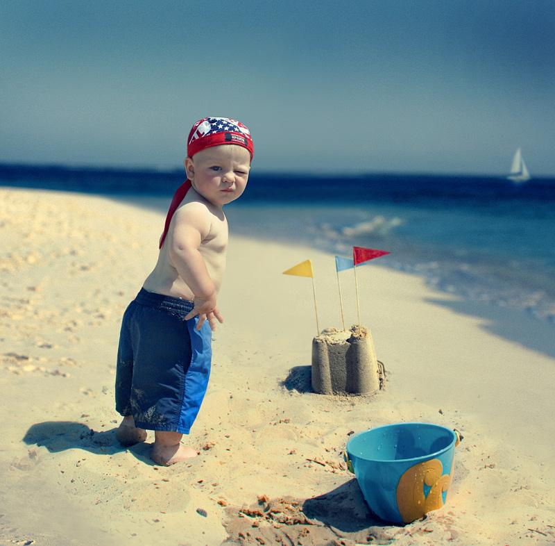 Дети на пляже прикольные картинки