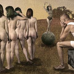 """Пабло Пикассо. """"Девочка на шаре. Кастинг""""."""