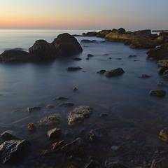 Утреннее море.