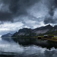 Высокие берега фьордов