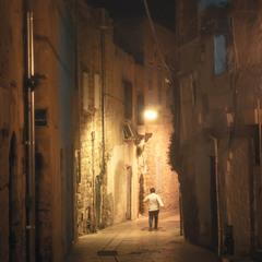 Улицы ночного Акра