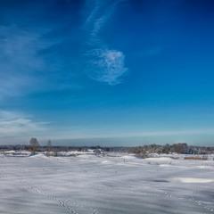 Следы на снегу*****