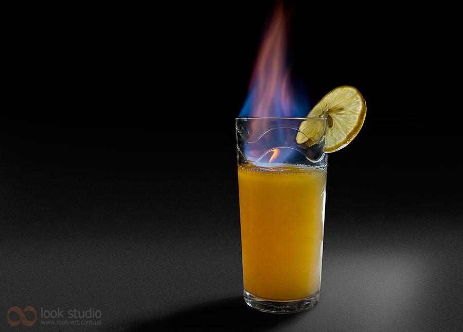 Как сделать напалм апельсиновый сок