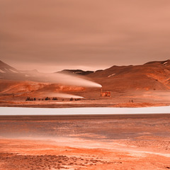 Red planet (Myvatn Geothermal Area)