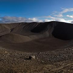 кратер вулкана.Исландия