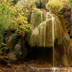 """Водопад""""Серебряные струи"""""""