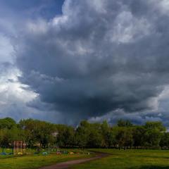 Немного майских облаков