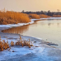 Последний зимний закат