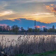 Апрельский закат