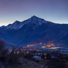 Так восходит солнце в горах