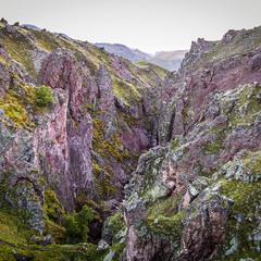 Сиреневый каньон