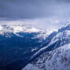 Кавказский хребет.