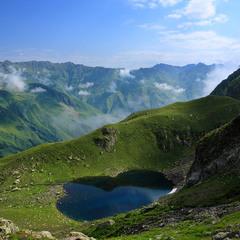 Озеро Дідігеле. Грузія.