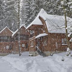 В Карпатах іде сніг...