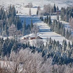 Зима прийшла в Карпати