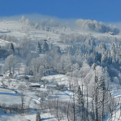 Мороз сходить у долину