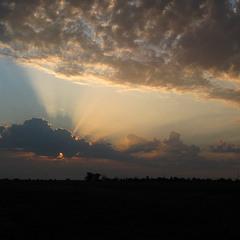 Захід сонця. Крим.
