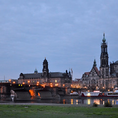 Утро в Дрездене