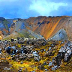Кольорові гори Ландманалейгар