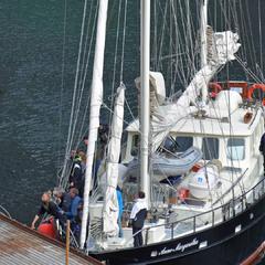 Норвежская женщина яхту на скаку остановит...