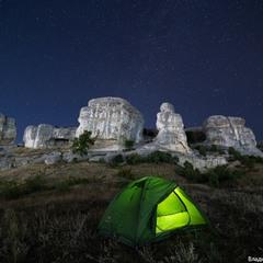 Ночь у скал Сувлу-Кая