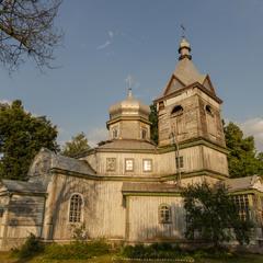 церква у с. Коленці, неподалік Чорнобильської зони відчуження (4)
