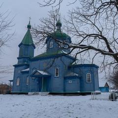 Дерев'яна церква, село Старий Солотвин