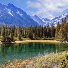 Озеро с форелью