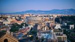 Вид на Колизей после заката