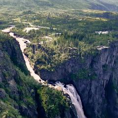 Верховье водопада Ворингфоссен.
