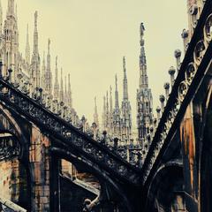 Крыша Миланского собора