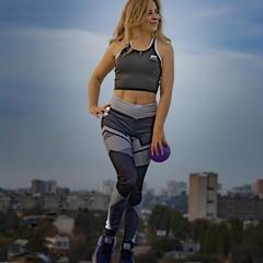 Фитнес на крыше