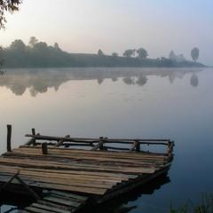 Мої аматорські фотозамальовки.Осінні Мотовилівські озера.