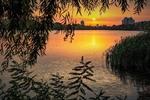 Люблю магічний захід сонця, відразу спокій на душі...