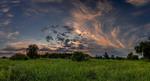 Вечірнє, літнє небо...