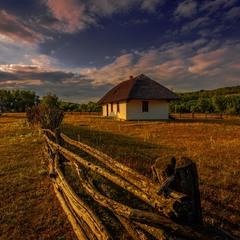 Моє село - частинка України, моє село - це неба голубінь...