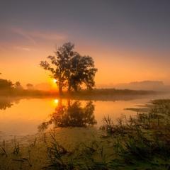 Липневий схід сонця