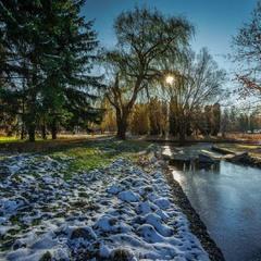 Мороз  скував  річки  ,струмки,озера…