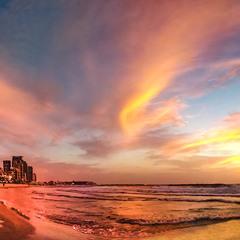 Тель-авивские закаты