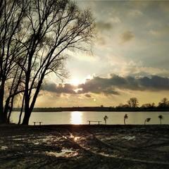 Біля озера