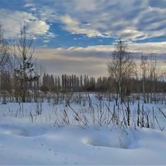 Серед глибоких снігів