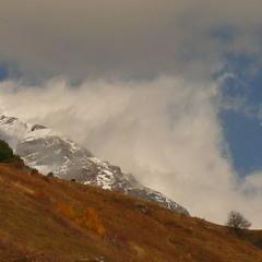 В горах облачно