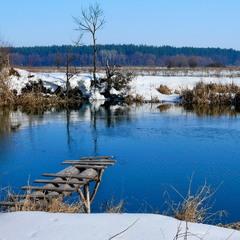 Река в ожидании