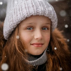 Снежная картина