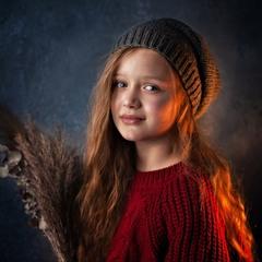 Детские портреты дома