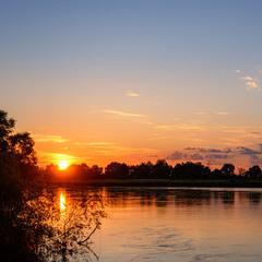 Захід сонця, Дніпро, Чернігівщина