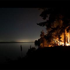 Вогні вночі