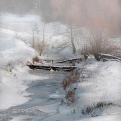 Забился под снегом тревожно ручей...